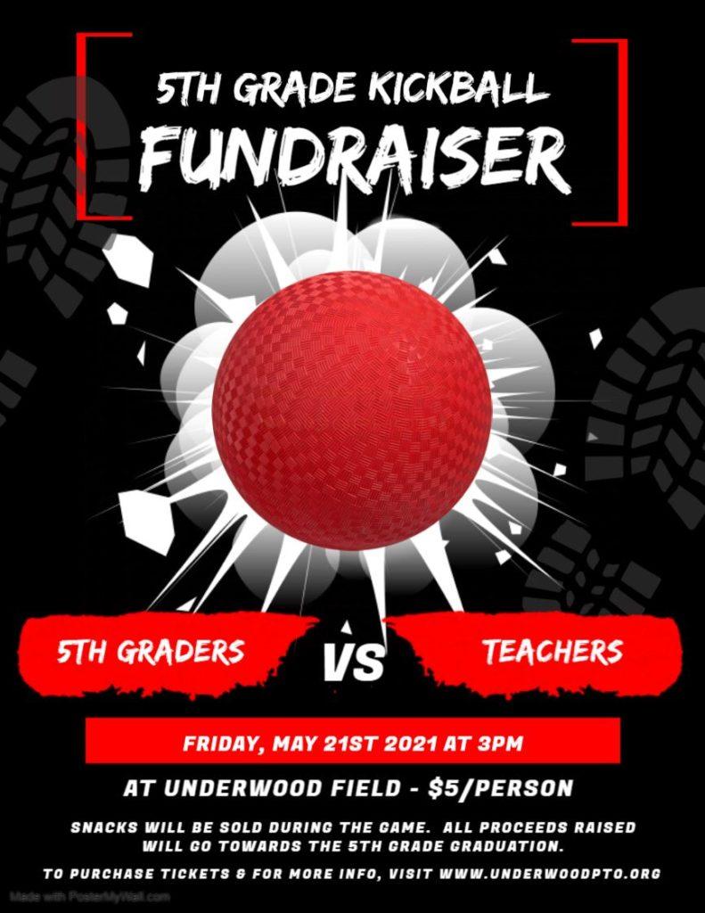 5th Grade Kickball Fundraiser - May 21st