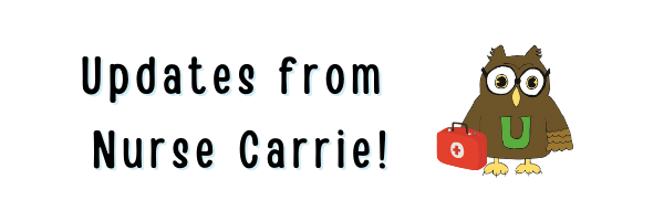 Health Updates from Nurse Carrie - June 25th, 2021