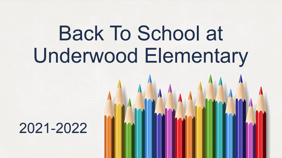 Slides from Back to School Meeting on 8/31