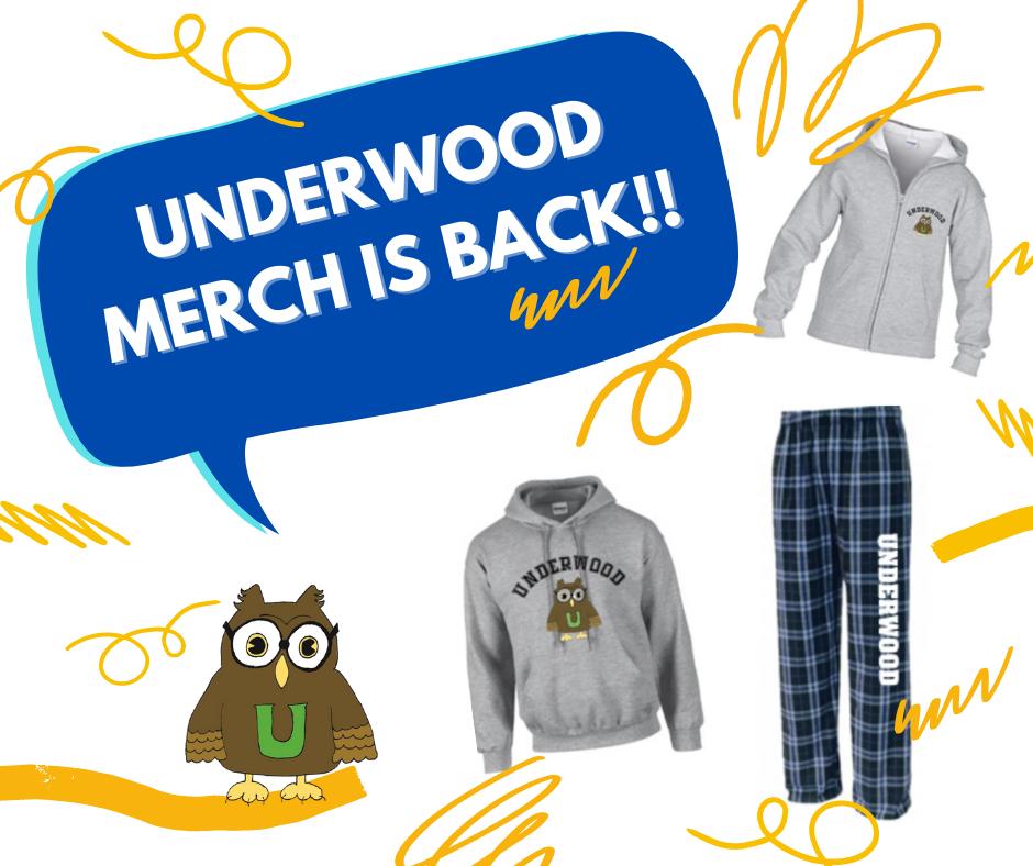 Underwood Merch is Back