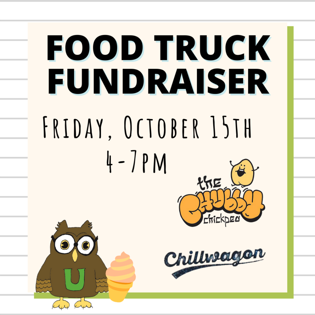 Food Truck Fundraiser: The Chubby Chickpea + Chillwagon on 10/15